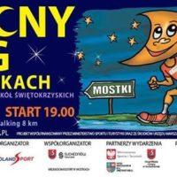 Nocny bieg w Mostkach